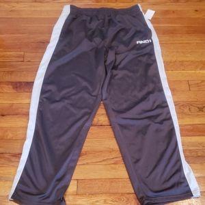 And1 drawstring athletic pants